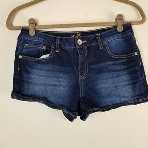 Girls Justice Jean shorts Size 12 1/2